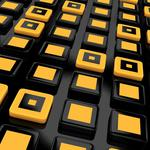 Cubes, yellow