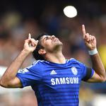 Diego costa, diego costa, football, chelsea, football, celebration of a goal, emblem
