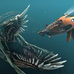 Light, underwater, submersibles, predator, monster, mouth