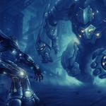 Robots, cyborgs, battle wallpaper