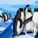Penguins, drawing, south, birds, antarctica