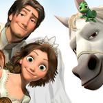 Pascal, tangled ever after, maximus, tangled 2, rapunzel, flynn