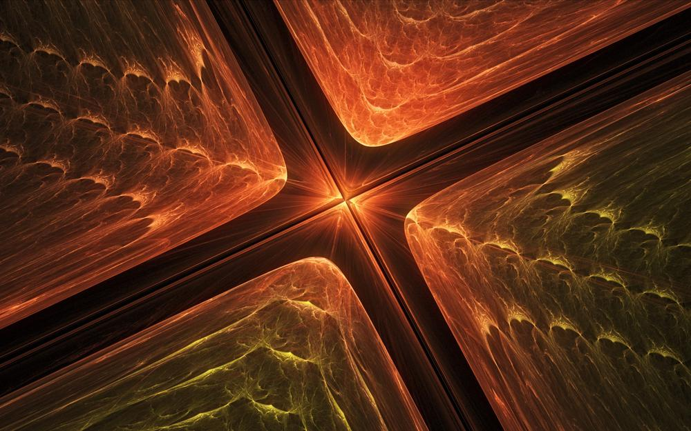 Fractal, color, abstraction
