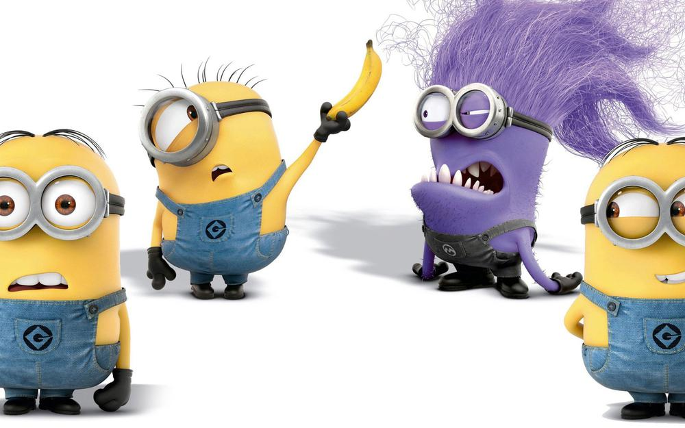 Small yellow people despicable me, despicable me, meng map, wallpaper