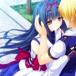 Anime, dating, boy, two, woman