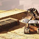 Walle, robot, solar battery charging