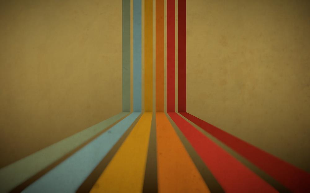 Rainbow, abstraction, colors, 1920×1080, lines, stripes, stripes