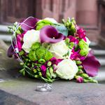 Flowers at the wedding