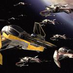 Robot wars, star, stars, flight, ships, fleet