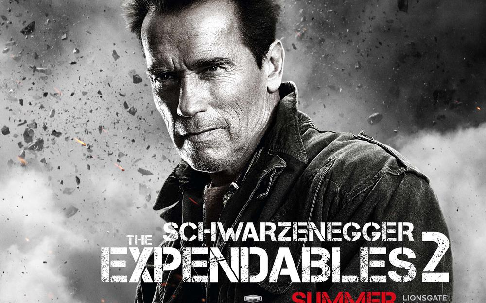 Schwartz, the expendables 2
