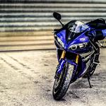 Bike blue bike hd wallpaper