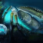 Mysterious, underwater, crab, peace, under the sea, the giant