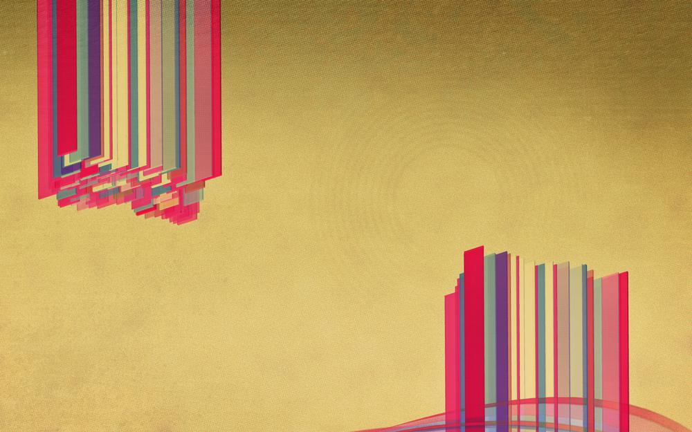 Abstraction, stripes, color, wallpaper, art, background, style