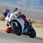 Motorcycle racer bend