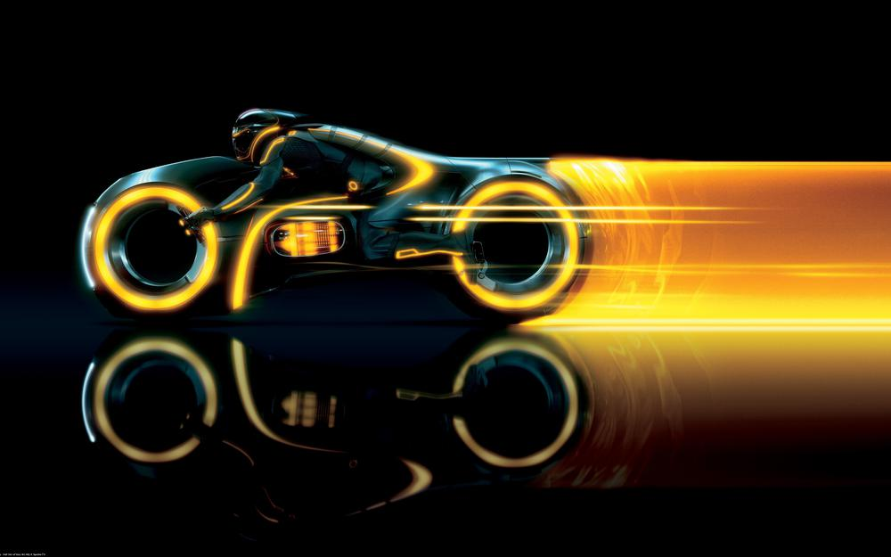Bike from the movie tron hd wallpaper