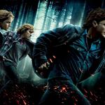 Harry potter and the deathly hallows: part 1, ron, hermione, ash, forest