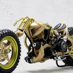 Motorcycle with spikes hd wallpaper