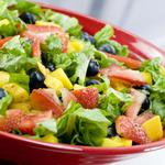 Delicious, salad, vegetables