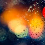 Drops, splashes of color