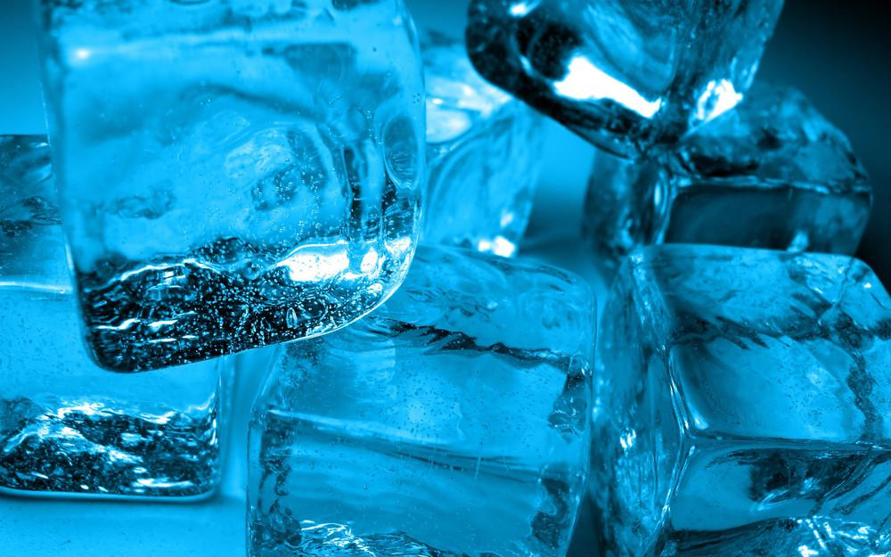 Ice, cubes, water, cold