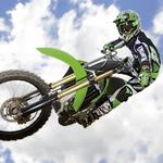 Sky, extreme, trick, jump, motorcycle