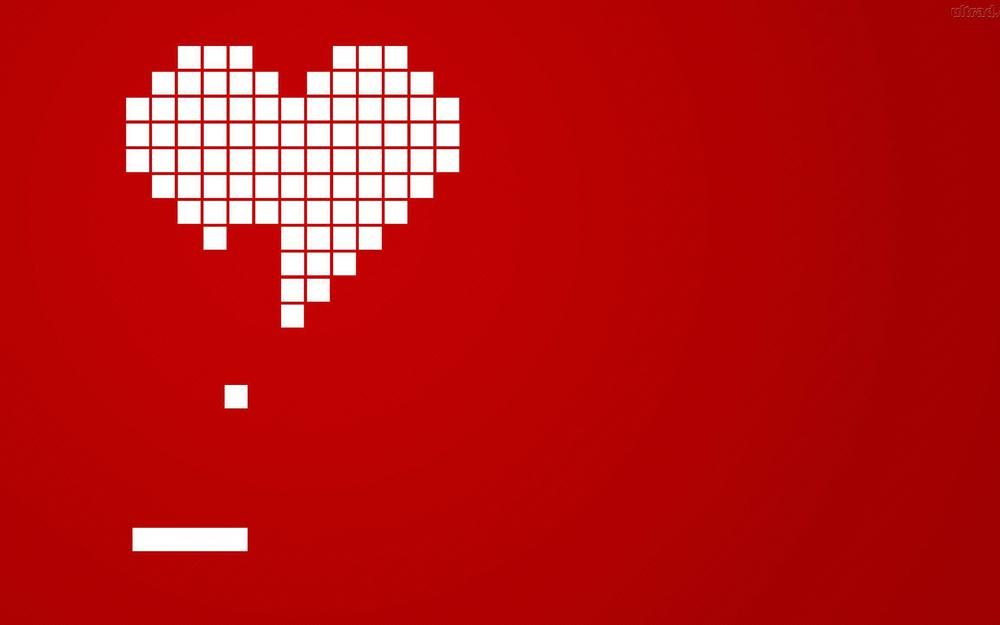 Heart computer love wallpaper