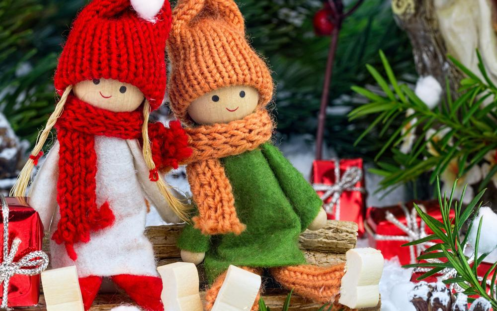 Winter doll gifts love