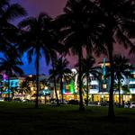 Florida, miami, south beach, night city wallpaper
