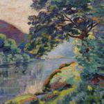 The echo rock, landscape, armand guillaumin, picture, armand guillaumin