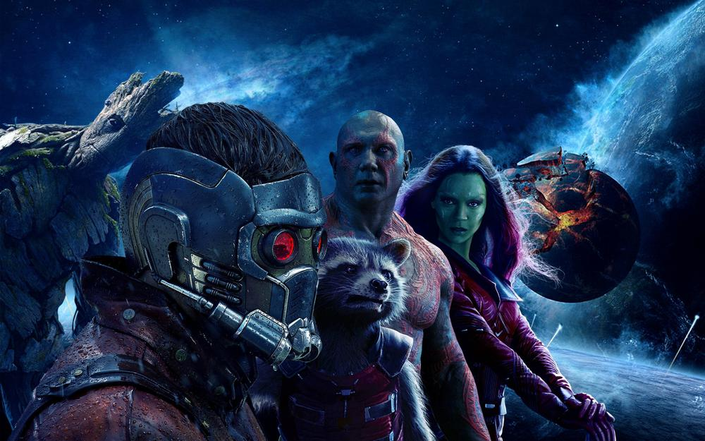 Guardians of the galaxy movie heroes