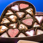 Candy, chocolate, box, heart