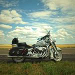 Bike, motorcycle, road, summer wallpaper