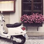 Vespa, moped, scooter