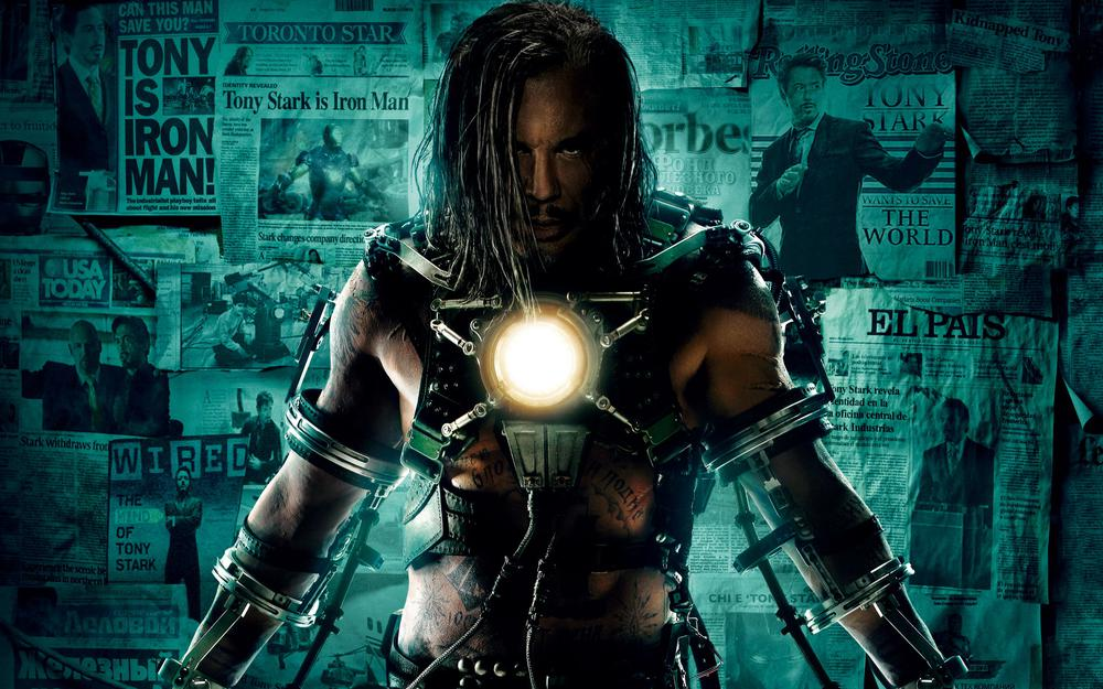 Mickey rourke's iron man 2 movie
