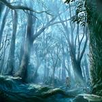Forest graphics dark fantasy