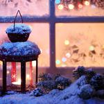 Winter, Christmas spirit, New year, candle, Christmas spirit, new year, snow