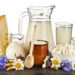 Cottage cheese, milk, cheese, dairy products, cream, flowers