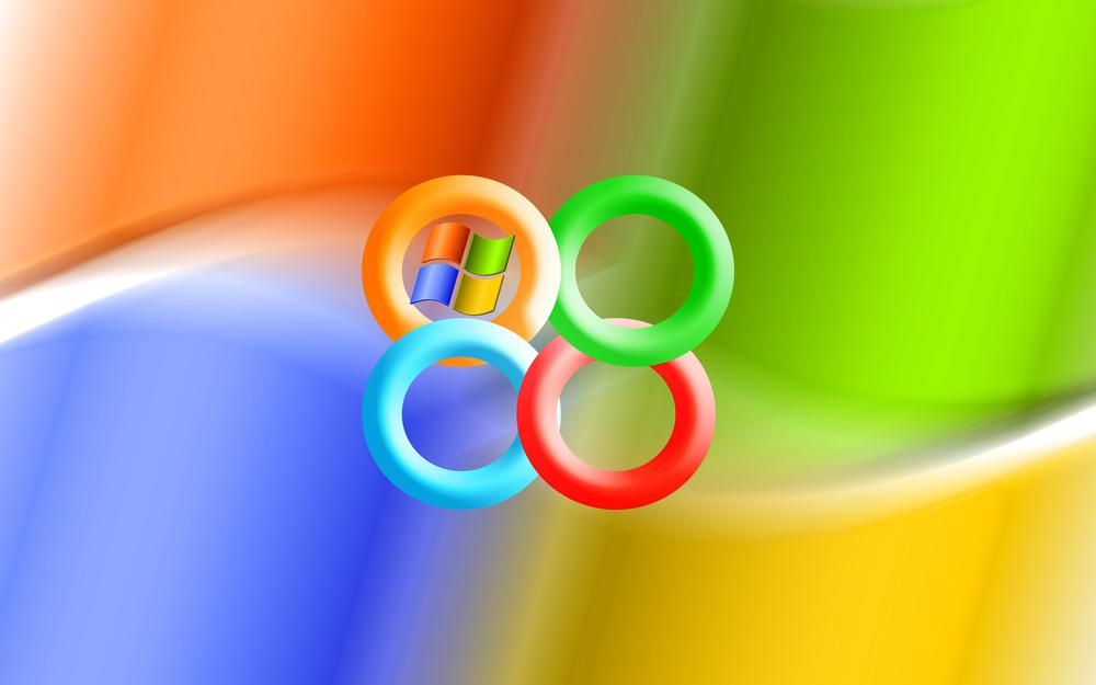 Windows, emblem, the operating system, the ring