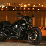 Harley-davidson on the waterfront