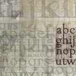 Layering, alphabet, letters