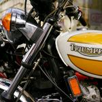 Triumph, tank, style, motorcycle