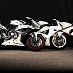 Honda motorcycles white