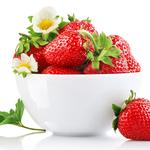 Strawberry, berry, bowl
