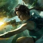 Lara croft and the guardian of light, girl, gun, lara croft