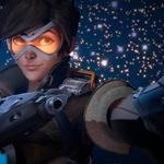 Tracer, weapon, gun, game, pistol, girl, by lemon100, overwatch