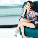 Campbell rin, korean girls, sofa, pictures, wallpaper campbell rin