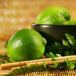 Chinese sticks, lime, green