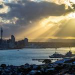 Auckland, New Zealand, the rays