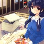 Nice japanese anime girls wallpaper