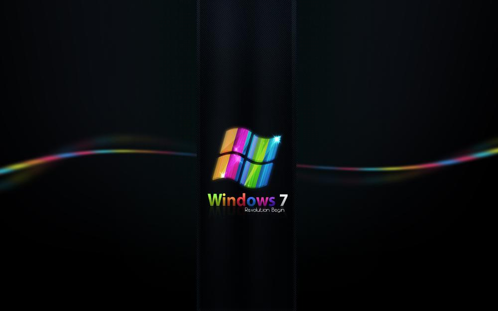 Windows, seven color